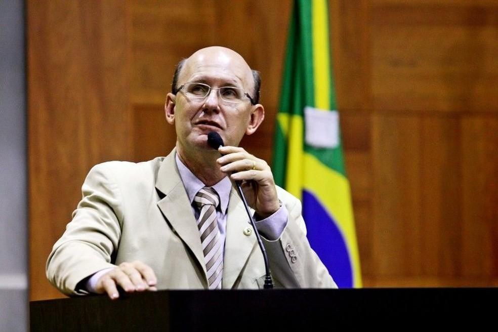 Carlos Avalone teve o mandato cassado pelo TRE — Foto: Jupirany Devillart/ALMT