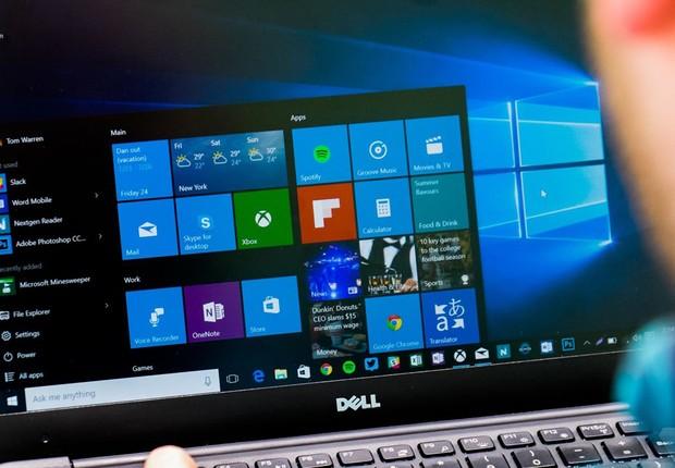 Windows 10 da Microsoft (Foto: Reprodução/YouTube)