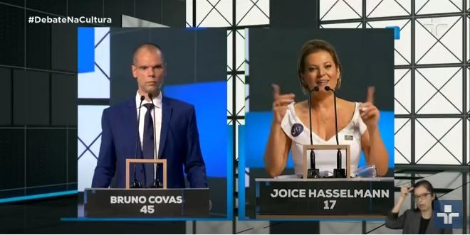 Debate entre candidatos de São Paulo na TV Cultura