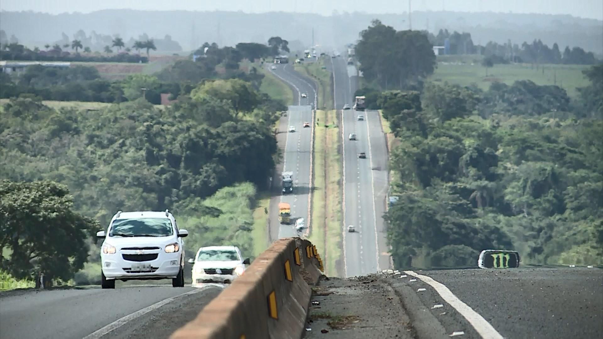 BR-050 na ponte sobre o Rio Uberabinha em Uberlândia será interditada para obras no sentido Uberaba