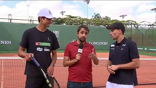 Em casa, Marcelo Melo e Bruno Soares sonham com novo título para o Brasil em Roland Garros
