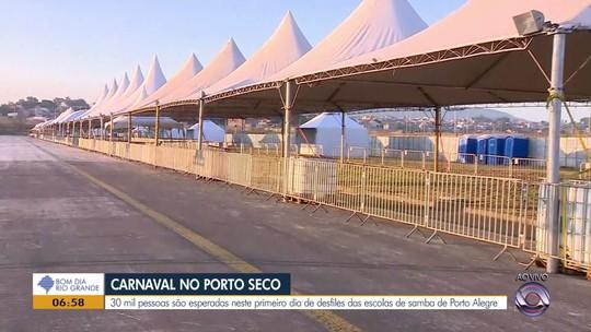 Desfile das escolas de samba de Porto Alegre começa nesta sexta-feira