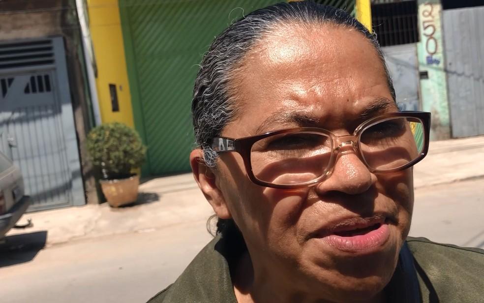 Pastora Zuleica Santos, que conhece o pastor Pedro, disse que o caso precisa ser apurado — Foto: Kleber Tomaz/G1