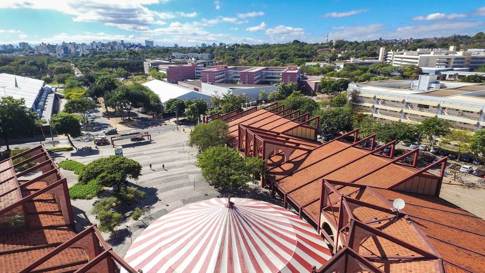 Campus Pampulha da UFMG  — Foto: Lucas Braga/UFMG/Divulgação