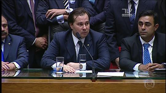 Rodrigo Maia (DEM) é eleito presidente da Câmara dos Deputados