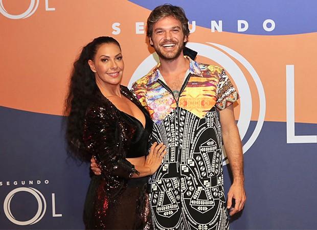 Fabíula Nascimento e  Emílio Dantas (Foto: Daniel Janssens/ Ed.Globo)