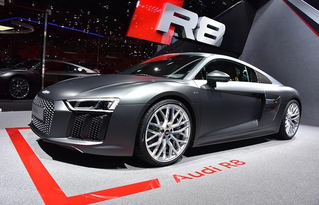 Novo Audi R8 V10 será vendido no Brasil em 2016 - AUTO ...
