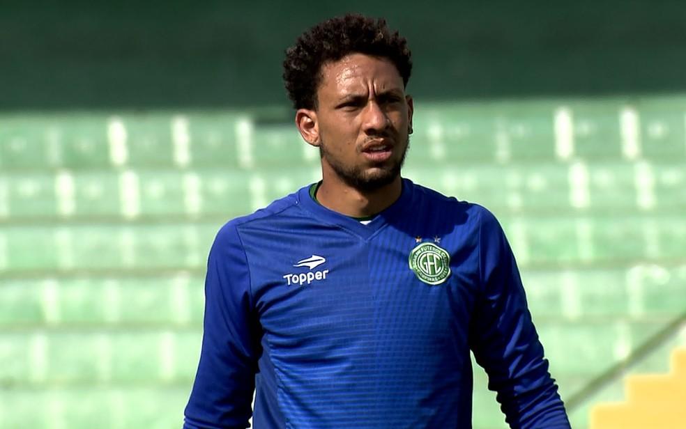 O goleiro Wallace, do Guarani (Foto: Reprodução/EPTV)