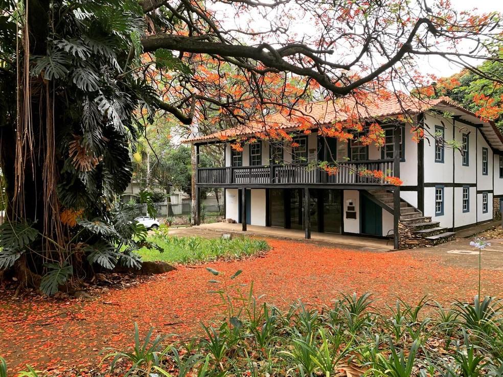 Museu Histórico Abílio Barreto, em Belo Horizonte — Foto: Raquel Freitas/G1
