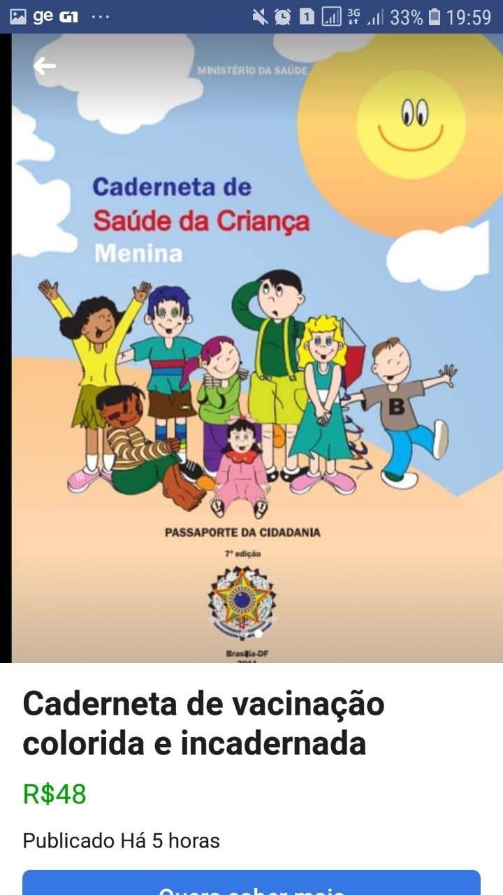 Cópias não oficiais de cadernetas de saúde são vendidas na internet em RO - Noticias