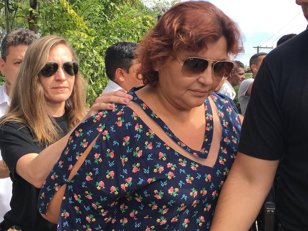 Edilene Oliveira também foi presa por participação no esquema de desvios da Saúde
