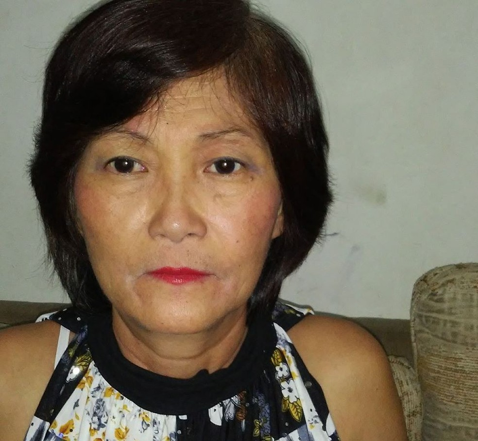 Vítima tinha 60 anos e foi arremessada do carro após a colisão em cruzamento de Bauru  — Foto: Arquivo pessoal