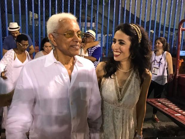 Paulinho da Viola e Marisa Monte (Foto: Ego )