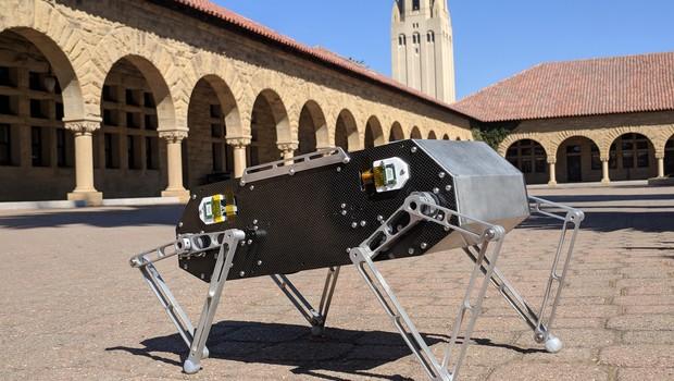 Cachorro robô Stanford Doggo, criado pelos estudantes da universidade norte-americana (Foto: Divulgação)