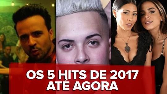'Despacito' é eleito hit do 1º semestre pelos leitores do G1; Simone & Simaria e Anitta são 2º lugar