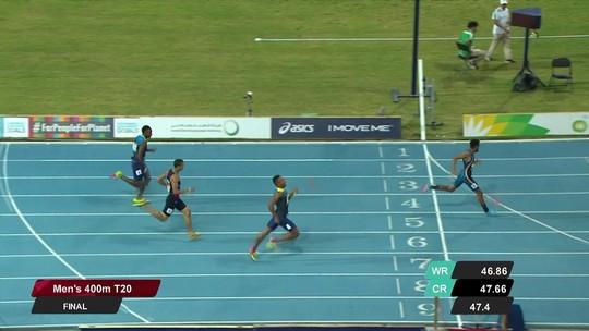 Mundial Paralímpico de Atletismo: Brasil conquista 2 ouros, e Daniel Martins é tricampeão