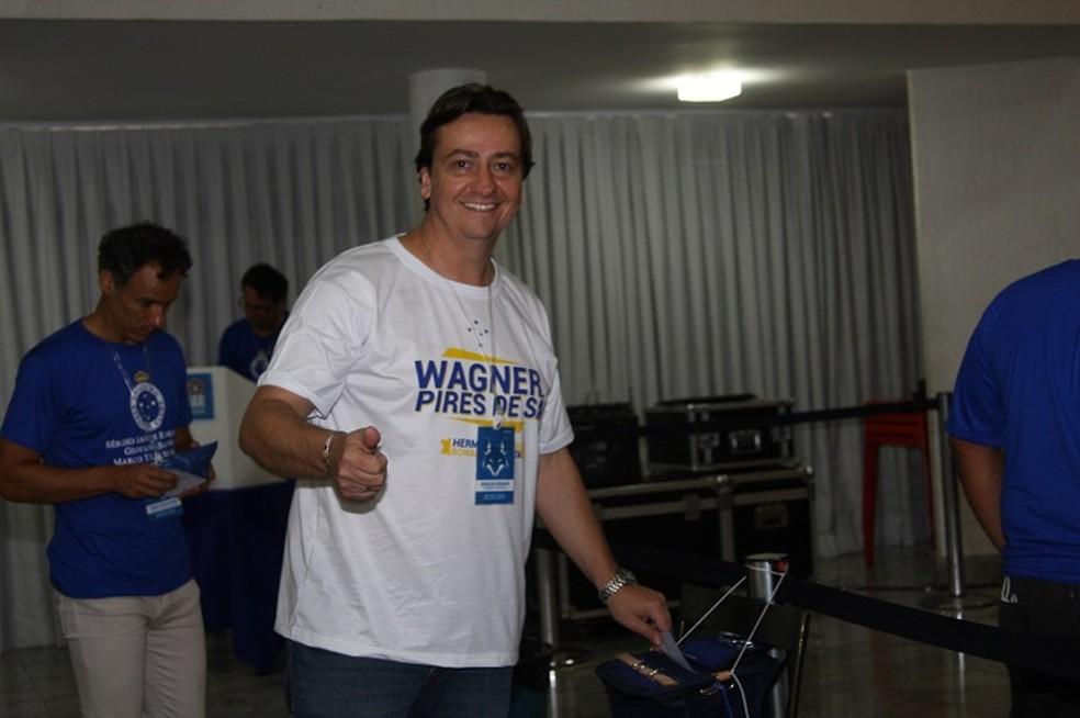 Ronaldo Granata falou sobre os próximos passos do trabalho de transição no Cruzeiro (Foto: Jaci Silveira / Cruzeiro)