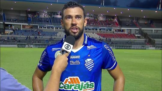 CSA anuncia a renovação do contrato do zagueiro Luciano Castán