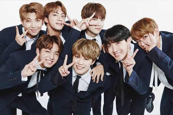O grupo de k-pop BTS (Foto: Divulgação)