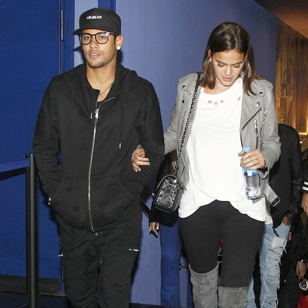 Neymar e Marquezine  (Foto: Backgrid)