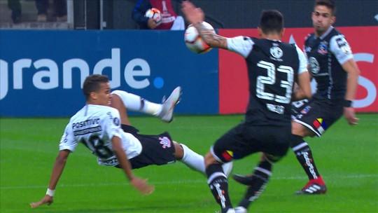Corinthians x Colo-Colo - Taça Libertadores 2018 - globoesporte.com