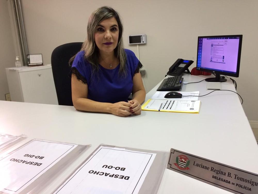 Luciane Regina Bachir, delegada da DIG de Sorocaba — Foto: Carlos Dias/G1