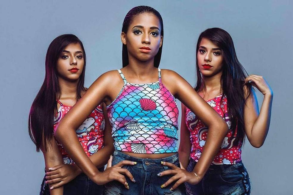 MC Loma e as Gêmeas Lacração se apresentariam em João Pessoa no dia 18 de agosto (Foto: Divulgação )