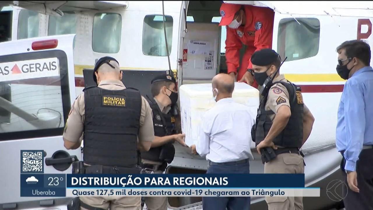 Covid-19: cidades Centro-Oeste, Triângulo e Alto Paranaíba recebem novo lote de vacina