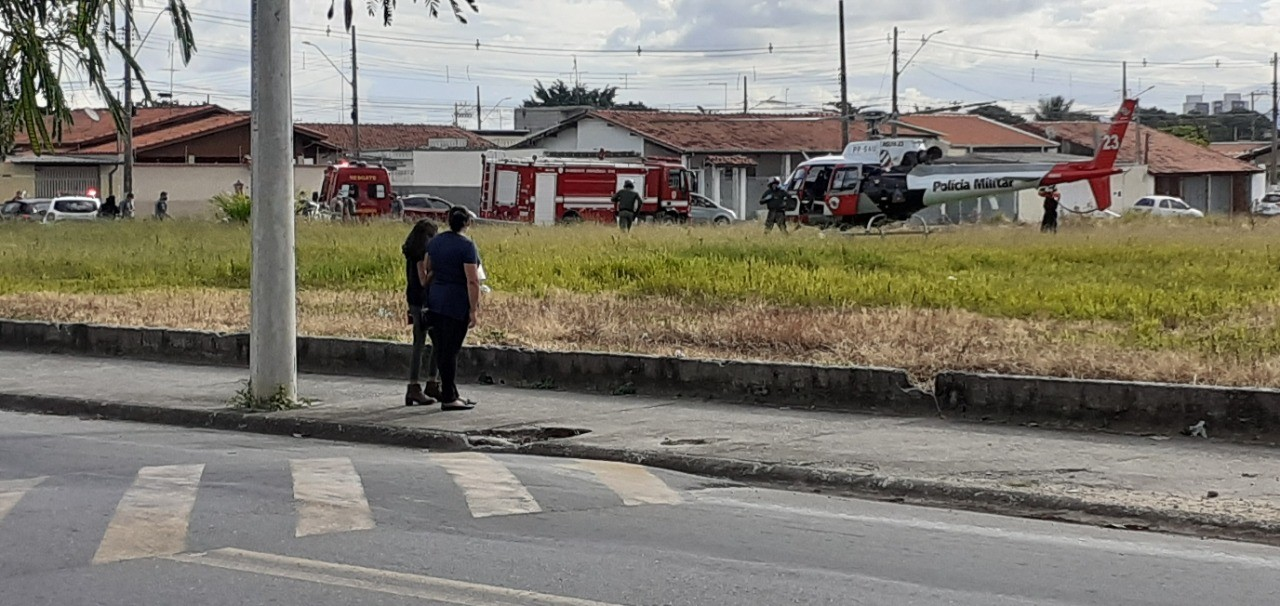 Mãe e filho ficam feridos em atropelamento em Taubaté