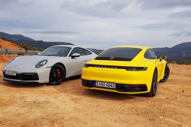 Porsche 911  (Foto: Julio Cabral. Autoesporte)