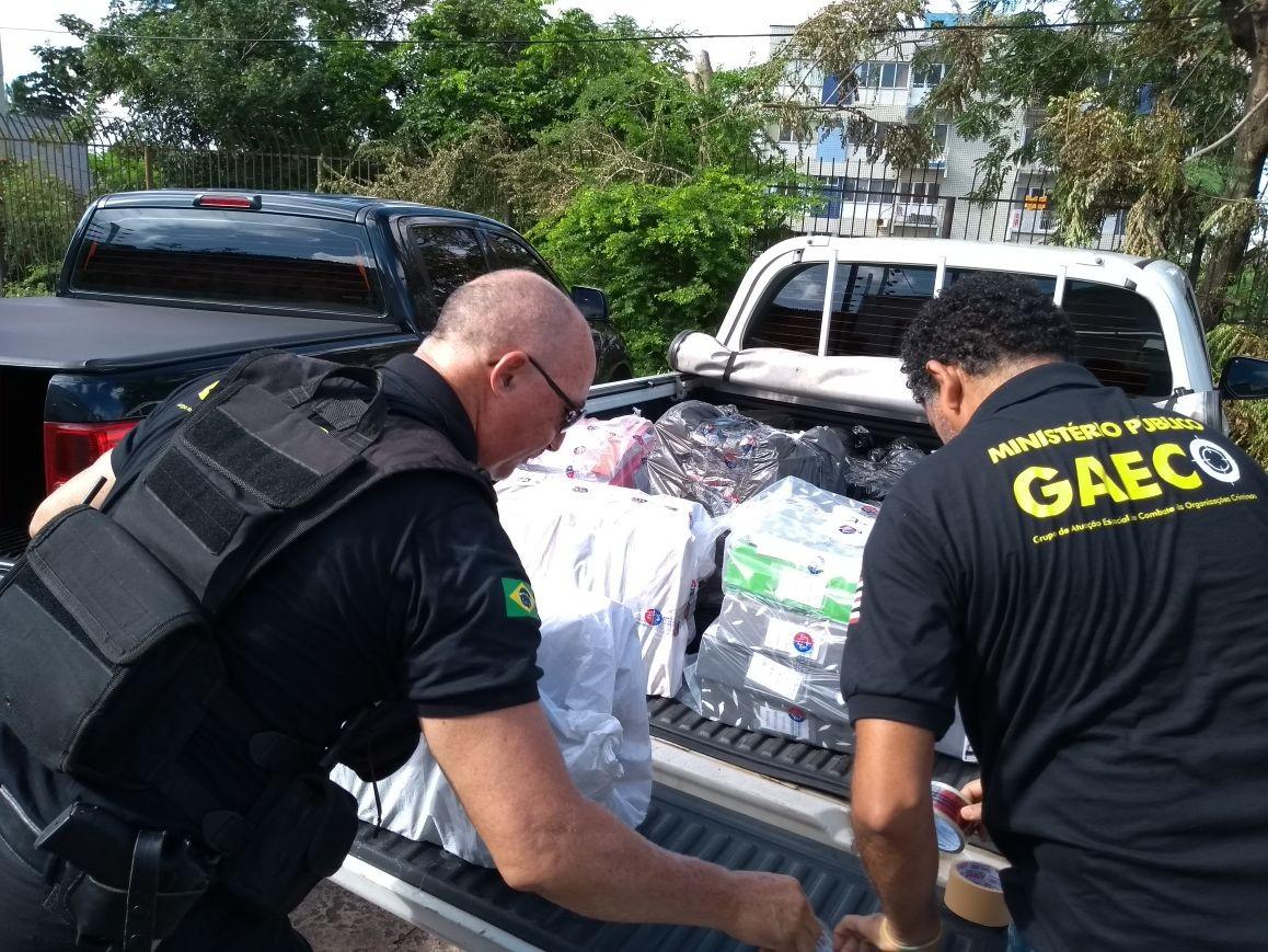 Polícia Civil e MP realizam operação que investiga o desvio de recursos públicos em Santa Quitéria