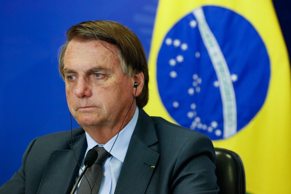 Jair Bolsonaro — Foto: Alan Santos/PR