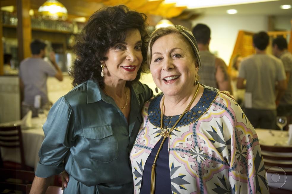 Lady Francisco com Aracy Balabanian, em 'Geração Brasil' — Foto: TV Globo