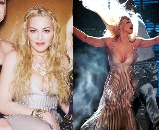 Madonna usa look de 23 anos atrás em festa do met (Foto: Reprodução / Instagram)