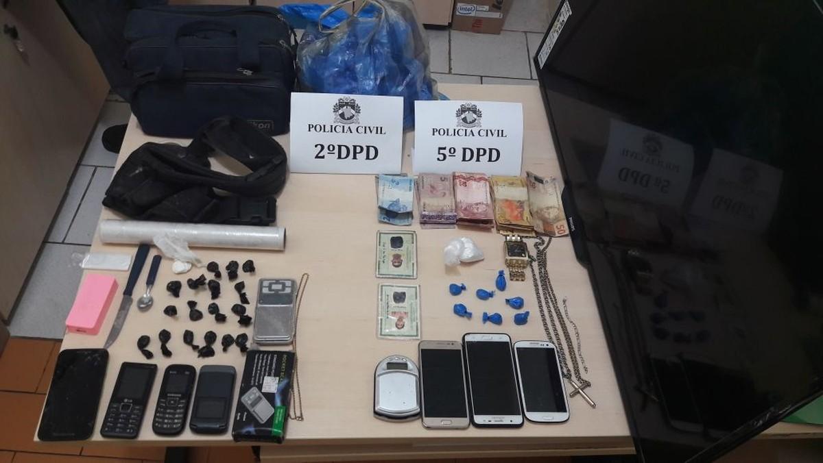 Quatro pessoas são detidas suspeitas de tráfico de drogas em área de prostituição em Boa Vista