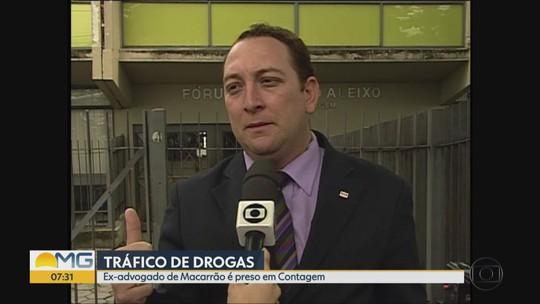 Ex-advogado de Macarrão, condenado no caso Eliza Samudio, é preso por tráfico de drogas