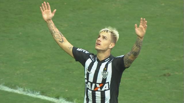 Roger Guedes fez mais uma grande exibição com a camisa do Atlético-MG