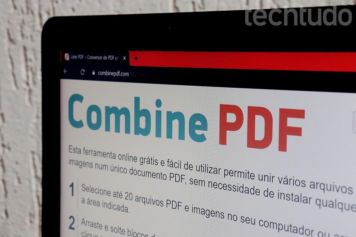 Como unir PDF online? Seis sites para juntar arquivos grátis