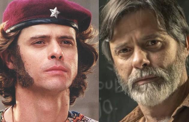 Marcos Winter, que recentemente fez 'Segunda chamada', foi Bob. O personagem abandonou a carreira de executivo por causa do estresse (Foto: TV Globo)