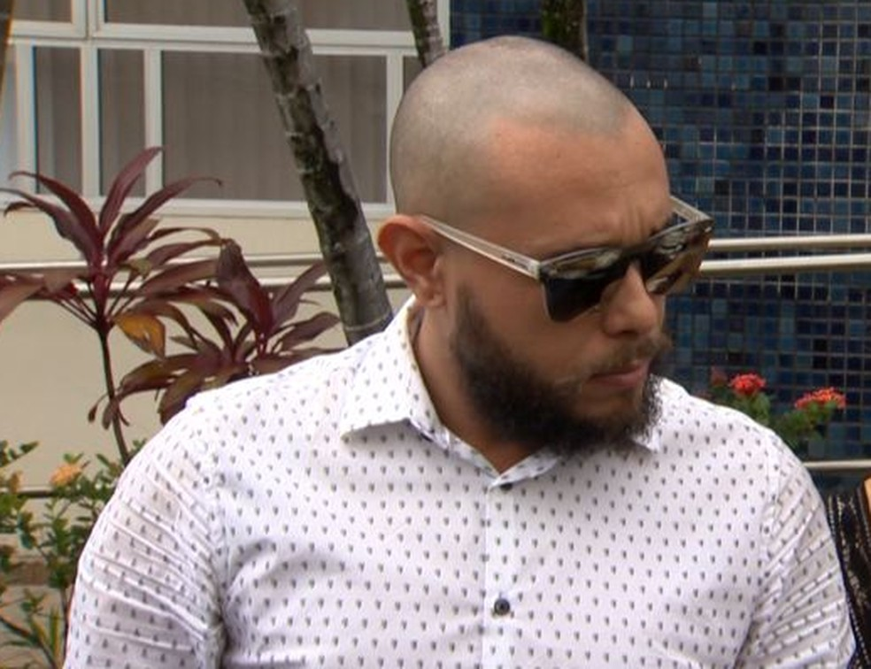 Pastor George Alves é indiciado pela morte de irmãos Joaquim e Kauã, em Linhares (Foto: Reprodução/ TV Gazeta)