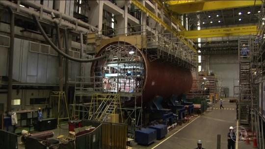 Propina atingiu projeto de submarino nuclear no Brasil, revelam delações