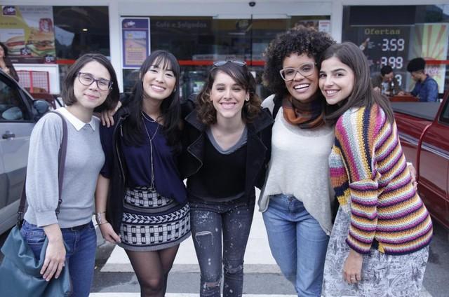 As protagonistas de 'As five' (Foto: Divulgação)