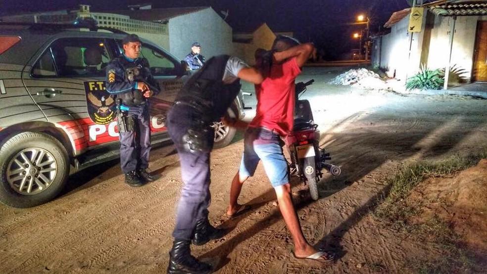 Polícia realizou operação com 11 prisões no Ceará (Foto: Divulgação/SSPDS)