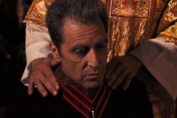 Al Pacino em cena de O Poderoso Chefão - Parte 3 (Foto: Reprodução)