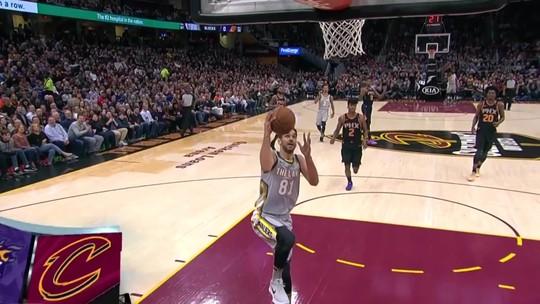 A assistência da noite pela NBA