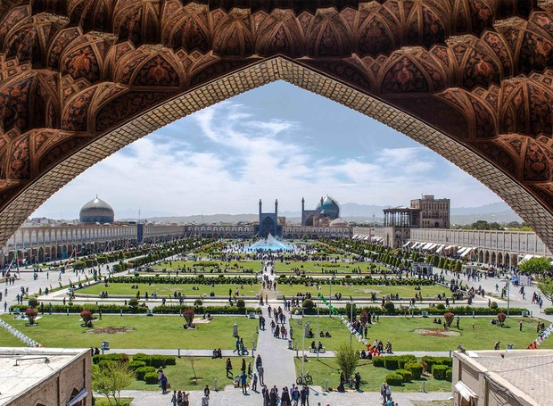 Esfahan já foi a maior cidade do mundo (Foto: Youtube/ Reprodução)
