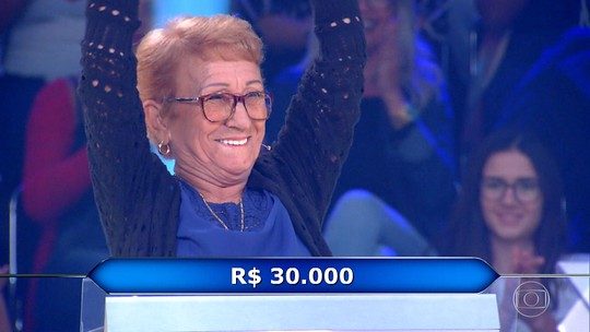 'Quem Quer Ser Um Milionário?' volta em nova temporada e participante ganha R$30 mil