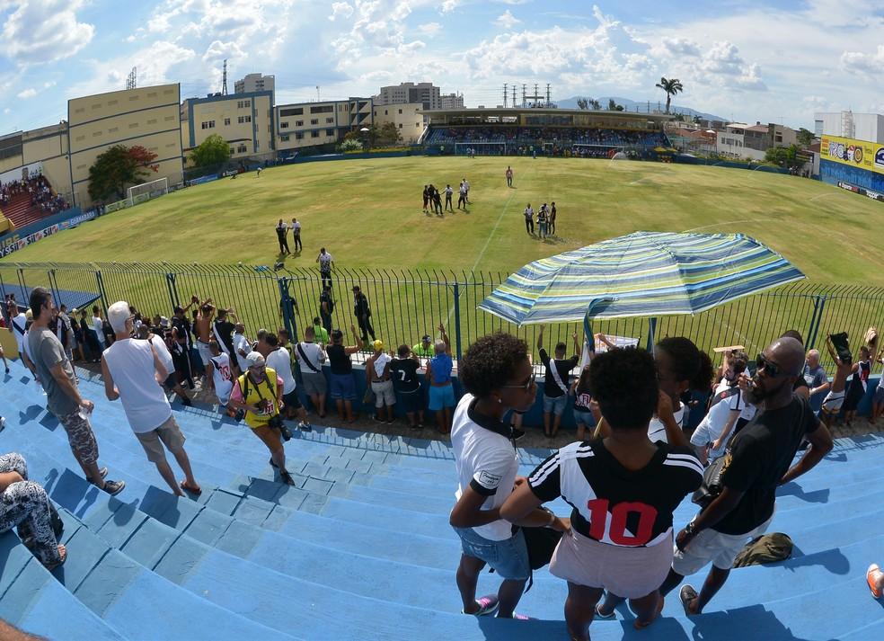 Madureira x Vasco Campeonato Carioca — Foto: André Durão/GloboEsporte.com