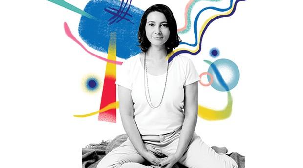 Mindfullness - Adriana Cardoso, 46 anos, fundadora do Escritório do Futuro (Foto: Juliana Frug com ilustrações de Catarina Bessell)