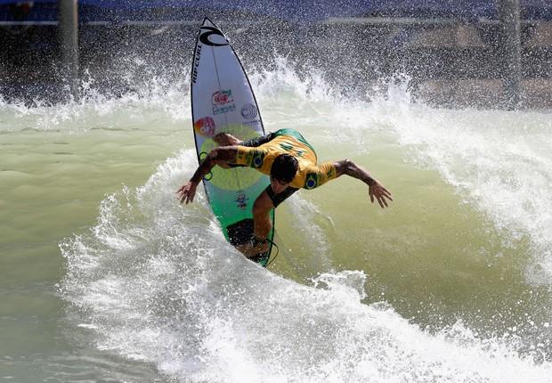 O bicampeão mundial de surfe Gabriel Medina (Foto: Sean M. Haffey/Getty Images)